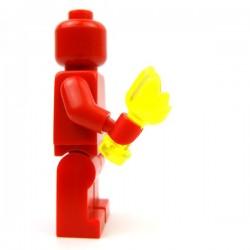 Lego Accessoires Minifig Custom BRICKFORGE Bouteille cassée (Trans Neon Green) (La Petite Brique)