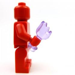 Lego Accessoires Minifig Custom BRICKFORGE Bouteille cassée (Violet transparent) (La Petite Brique)