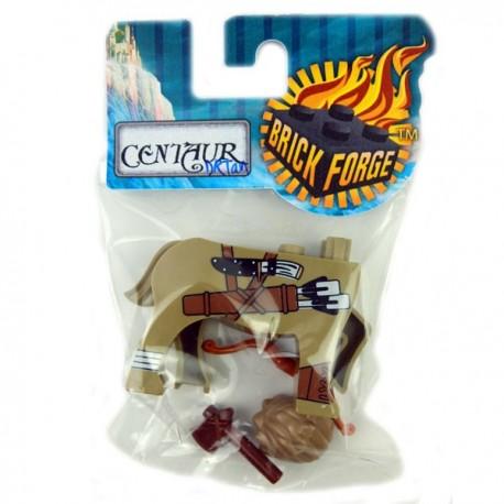 Lego Accessoires Minifig Custom BRICKFORGE Centaure Beige foncé (Indian 03) (La Petite Brique)