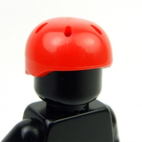Lego Accessoires Minifig Casque de sport (Rouge) (La Petite Brique)