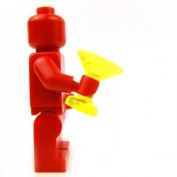 Lego Accessoires Minifig Custom BRICKFORGE Verre (Trans Neon Green) (La Petite Brique)