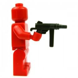 Lego Accessoires Minifig Custom BRICKFORGE Grease Gun (Vert Militaire) (La Petite Brique)