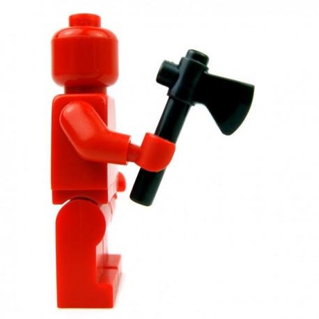 Lego Accessoires Minifig Custom BRICKFORGE Hâche (Noir) (La Petite Brique)