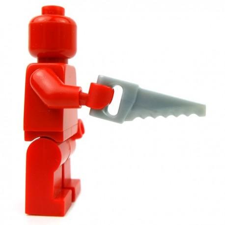 Lego Accessoires Minifig Custom BRICKFORGE Scie (Silver) (La Petite Brique)