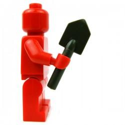 Lego Accessoires Minifig Custom BRICKFORGE Pelle (Vert Militaire) (La Petite Brique)