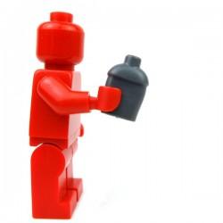 Lego Accessoires Minifig Custom BRICKFORGE Cantine militaire (Dark Bluish Gray) (La Petite Brique)