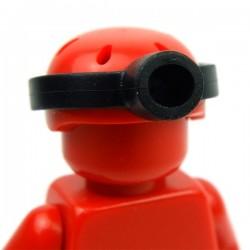 Lego Accessoires Minifig Custom BRICKFORGE Lampe frontale (noir) (La Petite Brique)