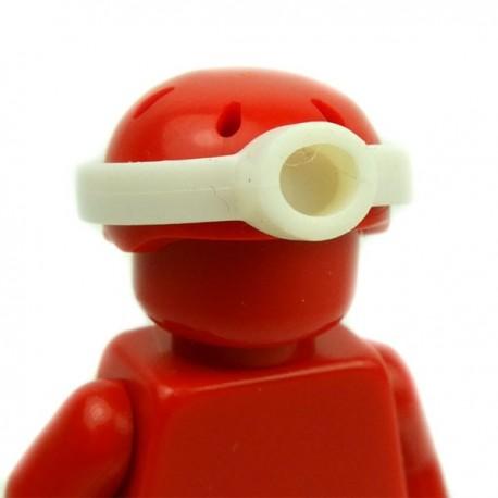 Lego Accessoires Minifig Custom BRICKFORGE Lampe frontale (Blanc) (La Petite Brique)