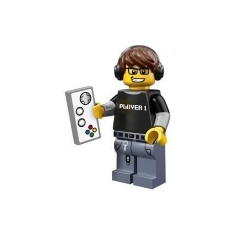 Lego Minifigures Serie 12 - le joueur de jeu video 71007 Minifig (La Petite Brique)