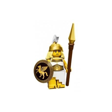 Lego Minifigures Serie 12 - la déesse de la bataille 71007 Minifig (La Petite Brique)