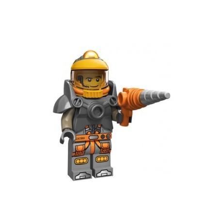 Lego Minifigures Serie 12 - le mineur de l'espace 71007 Minifig (La Petite Brique)