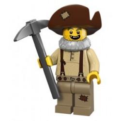 Lego Minifigures Serie 12 - le chercheur d'or 71007 Minifig (La Petite Brique)