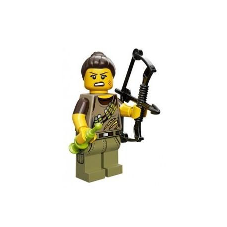 Lego Minifigures Serie 12 - la traqueuse de Dino 71007 Minifig (La Petite Brique)