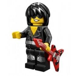 Lego Minifigures Serie 12 - la Rock Star 71007 Minifig (La Petite Brique)