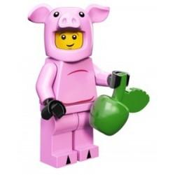 Lego Minifigures Serie 12 - le cochon 71007 Minifig (La Petite Brique)