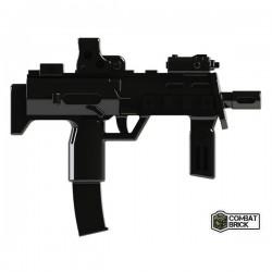 Lego Minifig Custom COMBAT BRICK MP7 (noir) (La Petite Brique)