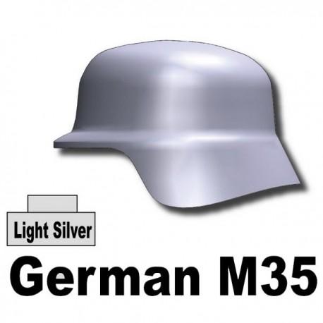Helmet German M35 (Light Silver)