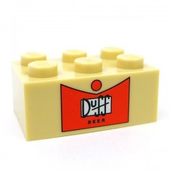 Duff 6 Pack (empty), Brick 2x6