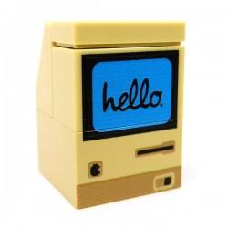 "Lego Accessoires Minifig CUSTOM BRICKS Ordinateur Macintosh ""Hello"" 1984 (La Petite Brique)"