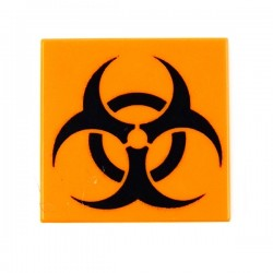 Biohazard (Tile 2x2 - Orange)