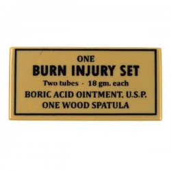Burn Injury Set (Tile 1x2 - Dark Tan)