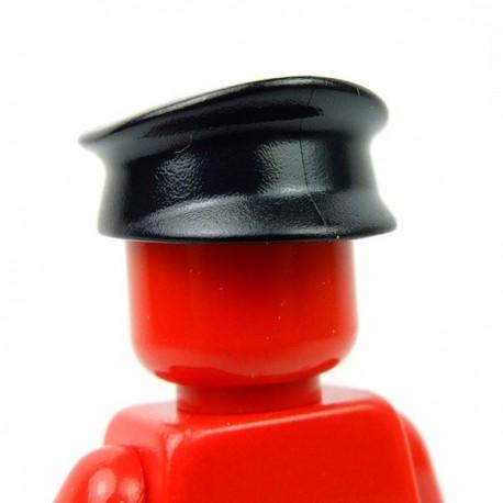 Lego Accessoires Minifig Petite Casquette (noir) (La Petite Brique)