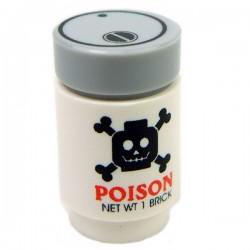 Lego Accessoires Minifig CUSTOM BRICKS Poison (Blanc) (La Petite Brique)