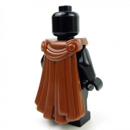 Lego Accessoires Minifig Custom BRICK WARRIORS Cape Spartiate (Marron) (La Petite Brique)