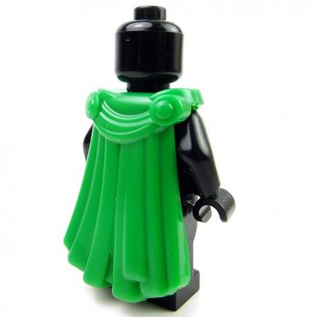 Lego Accessoires Minifig Custom BRICK WARRIORS Cape Spartiate (Vert) (La Petite Brique)
