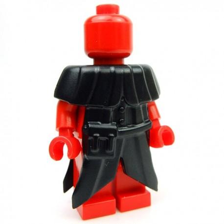 Lego Accessoires Minifig Custom BRICK WARRIORS Plague Doctor Coat (Noir) (La Petite Brique)