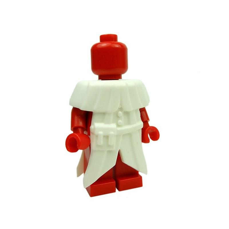 Brickwarriors Lego Custom Accessories Plague Doctor Coat White La