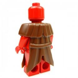 Lego Accessoires Minifig Custom BRICK WARRIORS Plague Doctor Coat (Marron) (La Petite Brique)