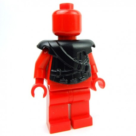Lego Accessoires Minifig Custom BRICK WARRIORS Armure Archer (Noir) (La Petite Brique)