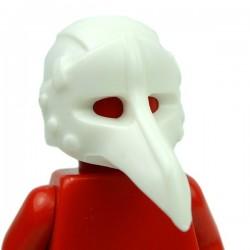 Lego Accessoires Minifig Custom BRICK WARRIORS Plague Doctor Mask (Blanc) (La Petite Brique)