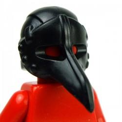 Lego Accessoires Minifig Custom BRICK WARRIORS Plague Doctor Mask (Noir) (La Petite Brique)