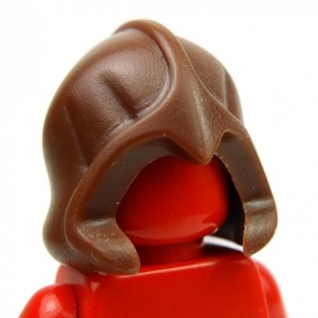 Lego Accessoires Minifig Custom BRICK WARRIORS Rogue Hood (Marron) (La Petite Brique)