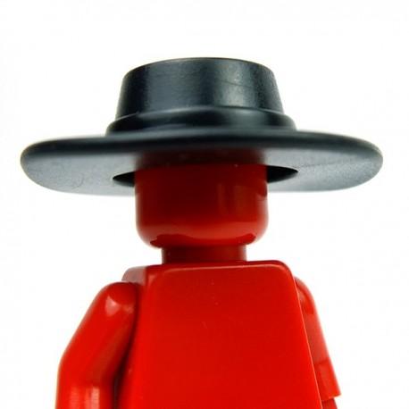 Lego Accessoires Minifig Custom BRICK WARRIORS Plague Doctor Hat (Noir) (La Petite Brique)