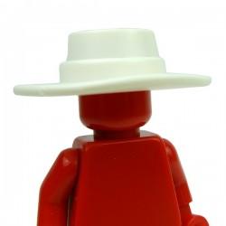 Lego Accessoires Minifig Custom BRICK WARRIORS Plague Doctor Hat (Blanc) (La Petite Brique)
