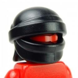 Lego Accessoires Minifig Custom BRICK WARRIORS Head Wrap (noir) (La Petite Brique)