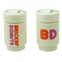 Lego Accessoires Minifig Custom EclipseGrafx Brinkin Donuts Coffee (impression double) (La Petite Brique)