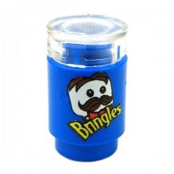 Lego Accessoires Minifig Custom EclipseGrafx Bringles (Bleu) (La Petite Brique)