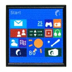 Computer Screen (Tile 2x2 - Black)