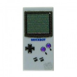 Game Boy Classic (Light Bluish Gray - Tile 1x2)