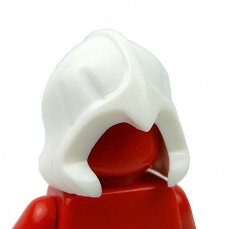 Lego Accessoires Minifig Custom BRICK WARRIORS Rogue Hood (Blanc) (La Petite Brique)