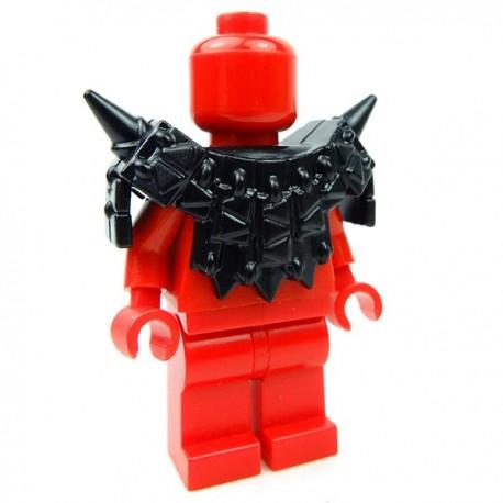 Lego Accessoires Minifig Custom BRICK WARRIORS Armure Lizardman (Noir) (La Petite Brique)
