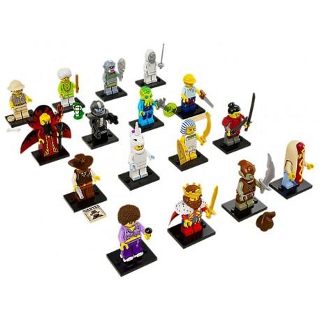 LEGO Serie 13 - 16 minifigures - 71008 (La Petite Brique)