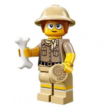 LEGO Serie 13 - la Paléontologue - 71008 (La Petite Brique)