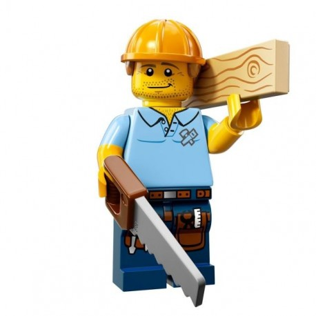 LEGO Serie 13 - l'Ouvrier Charpentier - 71008 (La Petite Brique)