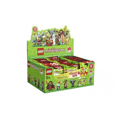 Lego Minifig 71008 - Boite complète de 60 sachets - Série 13 (La Petite Brique)
