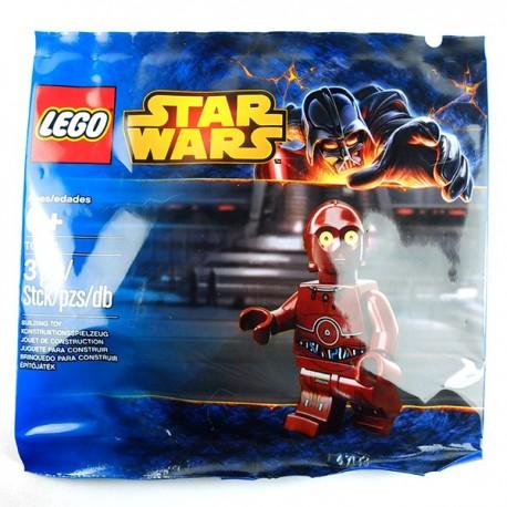Lego Minifig TC-4 (polybag) (La Petite Brique)